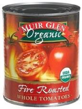 Muir Glen Organic Fire Roasted Whole Tomatoes, 28 oz.