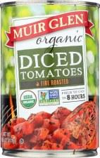 Muir Glen Organic Fire Roased Diced Tomatoes, 14.5 oz.