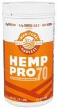 Manitoba Harvest Hemp Pro 70, 16 oz.