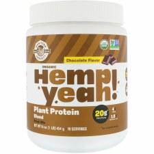 Manitoba Harvest Chocolate Flavor Hemp Yeah! Plant Protein, 16 oz.
