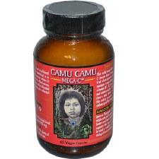 Herbs America Camu Camu Mega-C, 60 capsules