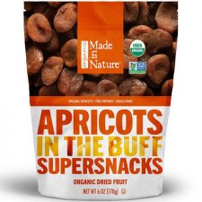 Made in Nature Organic Dried Apricots, 6 oz.