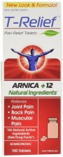 T-Relief Arnica + 12 Natural Ingredients, 100 tablets