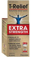 MediNatura T-Relief Extra Strength Tablets, 90 tablets