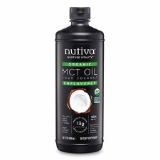 Nutiva Unflavored MCT Oil, 32 oz.