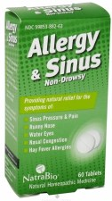 Natrabio Allergy and Sinus, 60 tablets