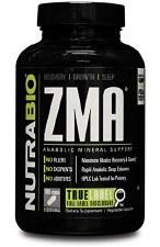 NutraBio ZMA, 180 capsules