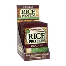 NutriBiotic Chocolate Rice Protein, .56 oz.
