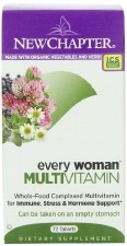 New Chapter Every Woman MultiVitamin, 72 tablets