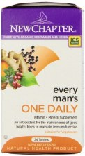 New Chapter Every Man's One Daily, 24 tablets