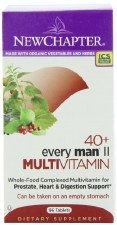 New Chapter 40+ Every Man II Multivitamin, 96 tablets