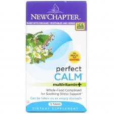 New Chapter Perfect Calm Multivitamin+, 72 tablets