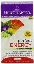 New Chapter Perfect Energy Multivitamin+, 36 tablets
