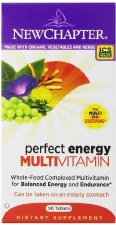 New Chapter Perfect Energy Multivitamin+, 96 tablets