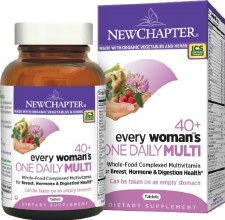 New Chapter 40+ Every Woman's One Daily Multi, 96 tablets