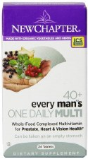 New Chapter 40+ Every Man's One Daily Multi, 24 tablets