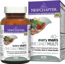 New Chapter 40+ Every Man's One Daily Multi, 96 tablets