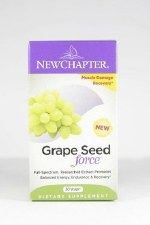 New Chapter Grape Seed Force, 30 vegetarian capsules