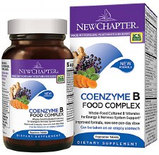 New Chapter Coenzyme B Food Complex, 60 vegetarian tablets