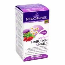 New Chapter Perfect Hair, Skin & Nails, 30 vegetarian capsules