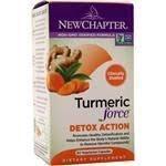 New Chapter Turmeric Force Detox Action, 60 vegetarian capsules