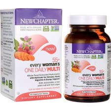 New Chapter 55+ Every Woman's One Daily Multi, 48 vegetarian tablets