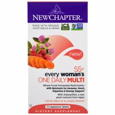 New Chapter 55+ Every Woman's One Daily Multi, 72 vegetarian tablets