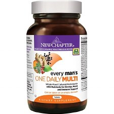 New Chapter One Daily 55+ Mens Multivitamin, 48 vegetarian tablets