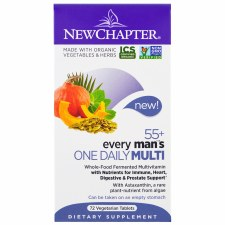 New Chapter One Daily 55+ Men Multivitamin, 72 vegetable tablets
