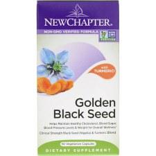New Chapter Golden Black Seed, 30 vegetarian capsules
