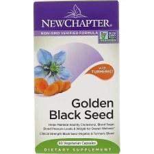 New Chapter Black Golden Seed, 60 vegetarian capsules