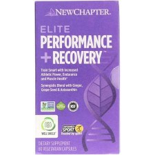 New Chapter Elite Performance + Recovery, 60 vegetarian capsules