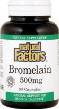 Natural Factors Bormelain, 90 capsules