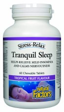 Natural Factors Tranquil Sleep, 60 tablets