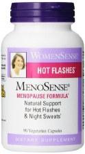Natural Factors WomenSense MenoSense Menopause Formula, 90 vegetarian capsules