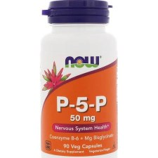 NOW P-5P 50 mg, 90 vegetarian capsules
