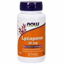 NOW Lycopene 10 mg, 60 softgels