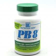 Nutrition Now PB8 Vegetrian Formula, 120 vegetarian capsules