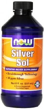 NOW Foods Silver Sol, 8 oz.