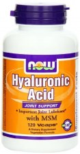 NOW Foods Hyaluronic Acid, 120 vegetarian capsules
