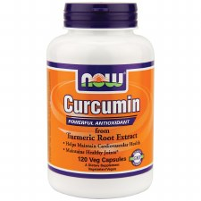 NOW Foods Curcumin Trumeric Root Extract, 120 vegetarian capsules