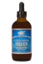 Natural Path Silver Wings Colloidal Silver 250ppm Drops, 4 oz.