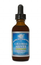 Natural Path Silver Wings Colloidal Silver 500ppm Drops, 2 oz.