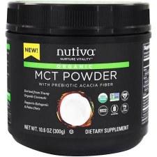 Nutiva Organic MCT Powder, 10.6 oz.