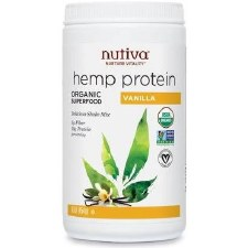 Nutiva Vanilla Hemp Protein Shake, 16 oz.