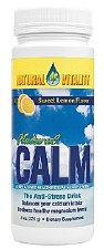 Natural Vitality Lemon Flavor Natural Calm, 8 oz.