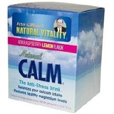Natural Vitality Raspberry Lemon Natural Calm, 30 packets
