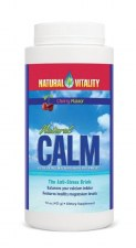 Natural Vitality Cherry Flavor Natural Calm, 16 oz.