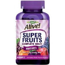 Nature's Way Alive! Super Fruits Complete Women's Multi, 60 gummies