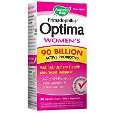 Nature's Way Primadophilus Optima Women's 90 Billion Active Probiotics, 30 vegetarian capsules